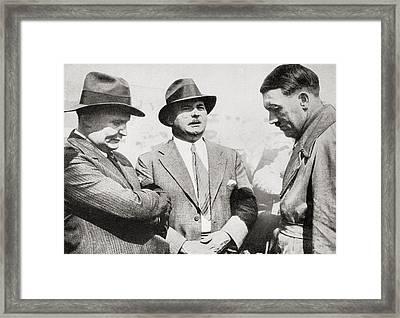 From Left To Right, Hermann Wilhelm G Framed Print