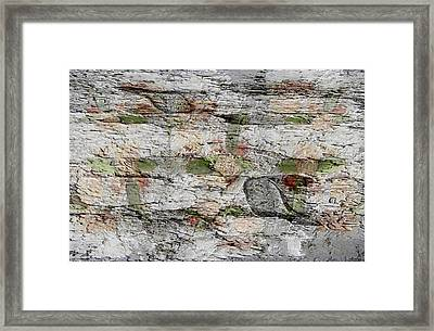 Stone Framed Print by Lorai Wilson