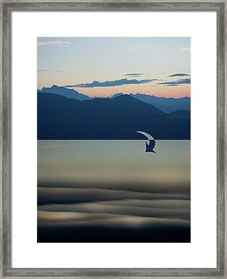 From Mountains To Sea Framed Print