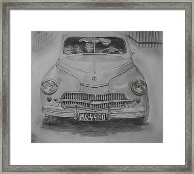 From My Childhood Framed Print by Maria Woithofer