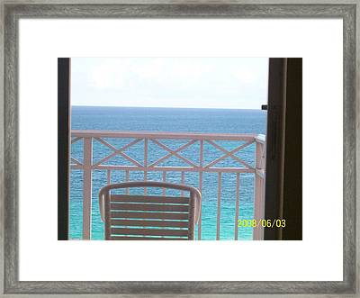 From My Room Framed Print by Rishanna Finney