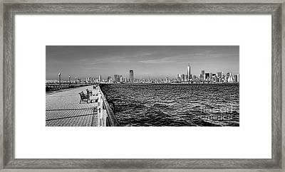 From New Jersey Framed Print by Olivier Le Queinec