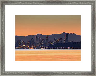 From Night To Day Framed Print