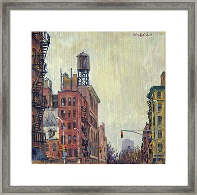 From Orchard Street Nyc Framed Print