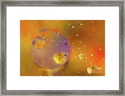 From Outer Space Framed Print by Christine Amstutz