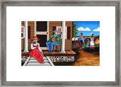 From Outhouse To The Mainhouse Framed Print