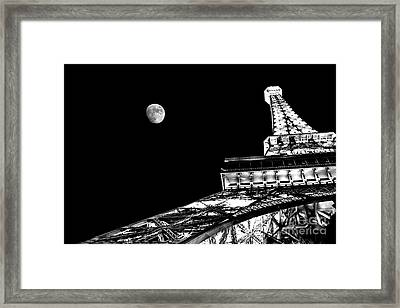 From Paris With Love Framed Print