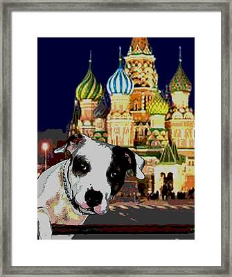 From Russia With Love Framed Print by Jann Paxton