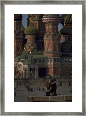 From Russia With Love Framed Print