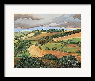 Somerset Framed Prints