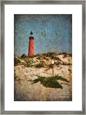 From The Beach Framed Print