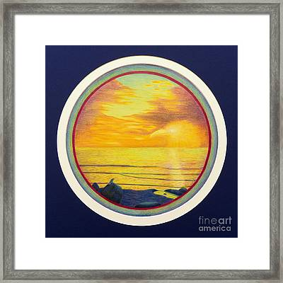 From The Beginning Framed Print