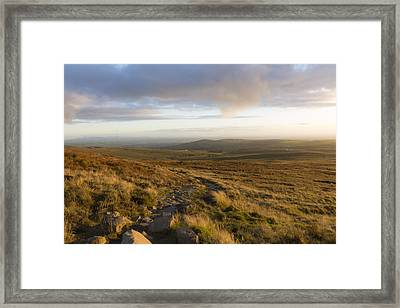 From The Black Mountain Framed Print