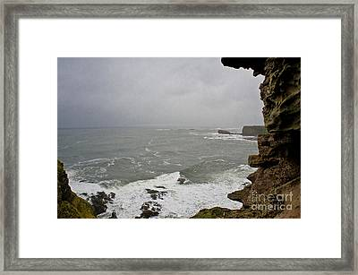 From The Castle Wall Framed Print