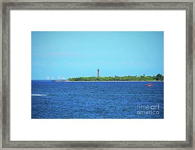From The Causeway Framed Print