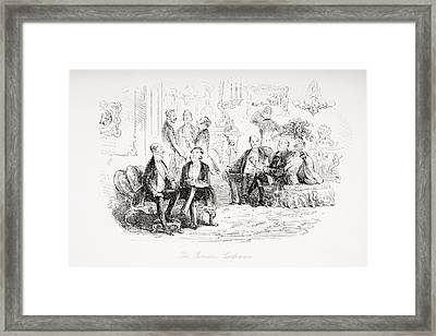 From The Charles Dickens Novel Little Framed Print by Vintage Design Pics