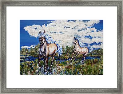 From The Cloud Framed Print by Yelena Rubin