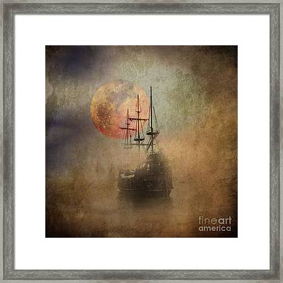 From The Darkness Framed Print by Barbara Dudzinska
