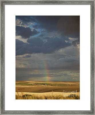 From The Darkness Comes Light Framed Print