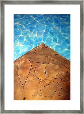From The Earth Unto The Sea Framed Print by Jez C Self