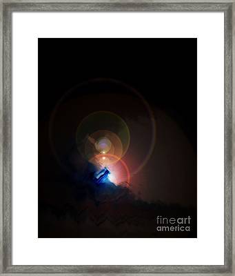 From The Edge Of The Other Space Framed Print by Jack Norton