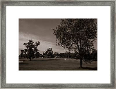 From The Fields - The Hermitage Framed Print