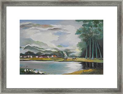 From The Forest Framed Print by Min Wang