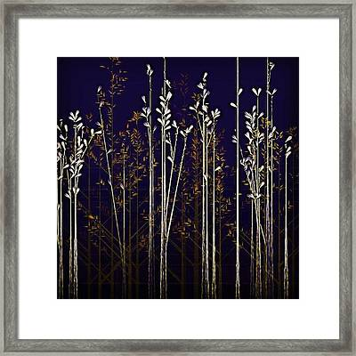 From The Grass We Creep Framed Print