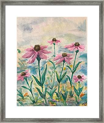 From The Ground Up  Framed Print by Andrea Filkins