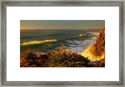 From The Headland Framed Print