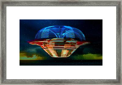 From The Heavans  Framed Print by David Lee Thompson