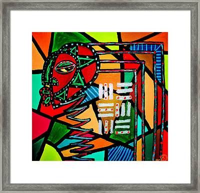From The Hill And Beyond Framed Print by Malik Seneferu