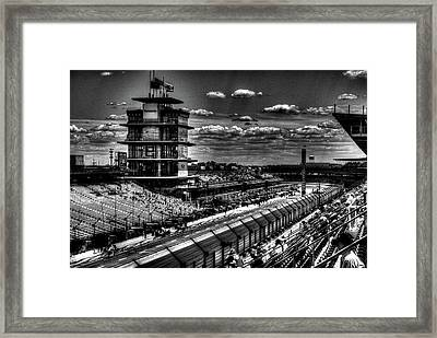 From The Hulman Suites  Framed Print by Josh Williams