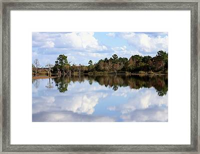 From The Lake To The Channel  Framed Print by Debra Forand