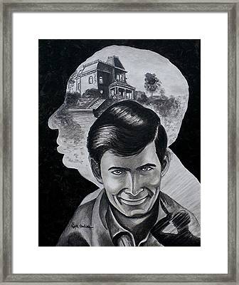 From The Mind Of Hitchcock Framed Print by Al  Molina