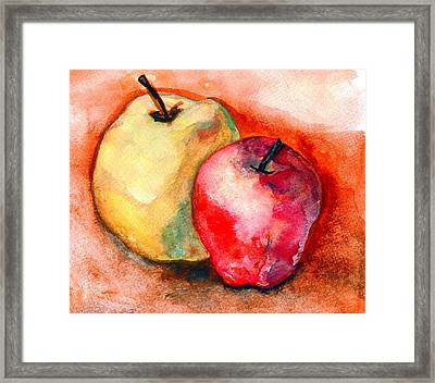From The Orchards Framed Print by Amira Najah Whitfield