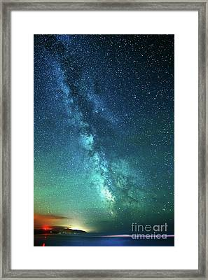 From The Pacific To The Milky Way Framed Print