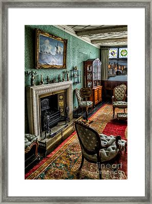 From The Past Framed Print