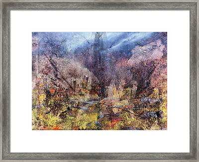 From The Rubble Framed Print