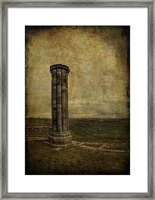 From The Ruins Of A Fallen Empire Framed Print by Evelina Kremsdorf