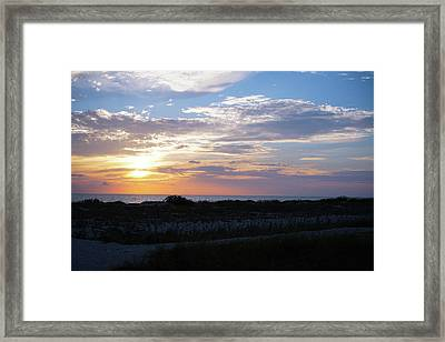 From The Sand Dunes Framed Print