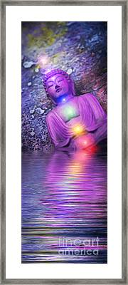 From The Sea Of Samsara Framed Print by Tim Gainey