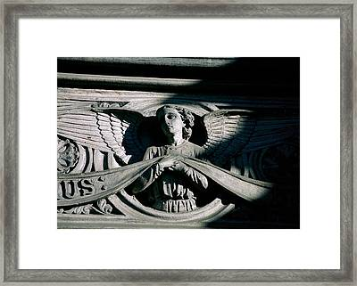 Framed Print featuring the photograph From The Shadows by Kenneth Campbell