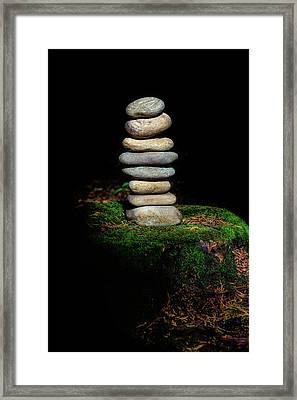 Framed Print featuring the photograph From The Shadows by Marco Oliveira