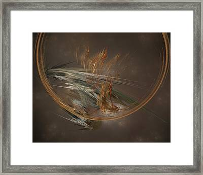 From The Shire To Mordor Framed Print