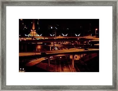 From The Summit Street Bridge Framed Print