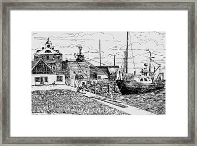 From The Sundial Framed Print by Vic Delnore