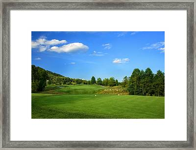 From The Tee Framed Print