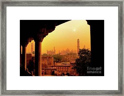 Mughal Empire  Framed Print