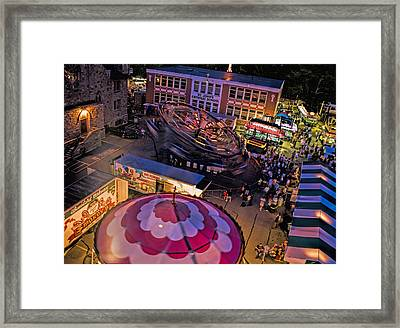 From The Top Framed Print by David Whiteside